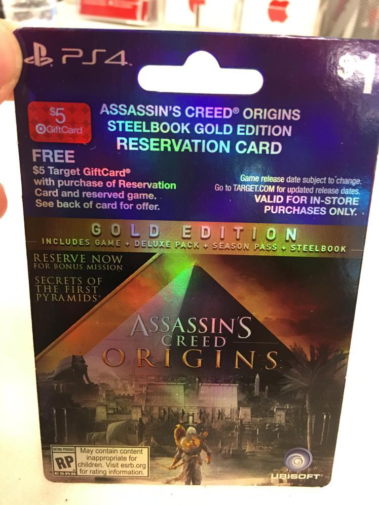 Leaked Assassin's Creed Origins Season Pass