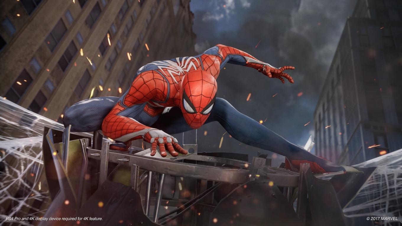 Spider-Man Game Footage