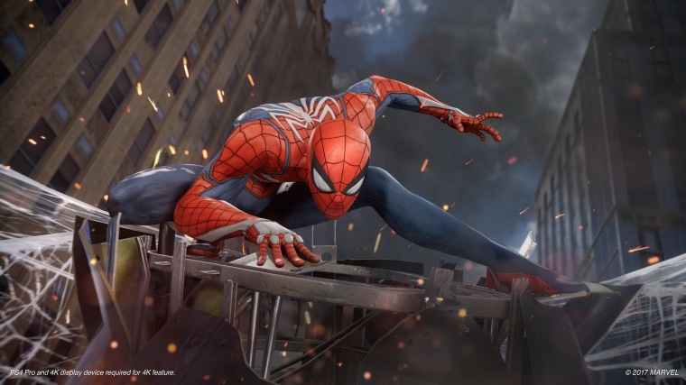 Spider-Man Game Footage