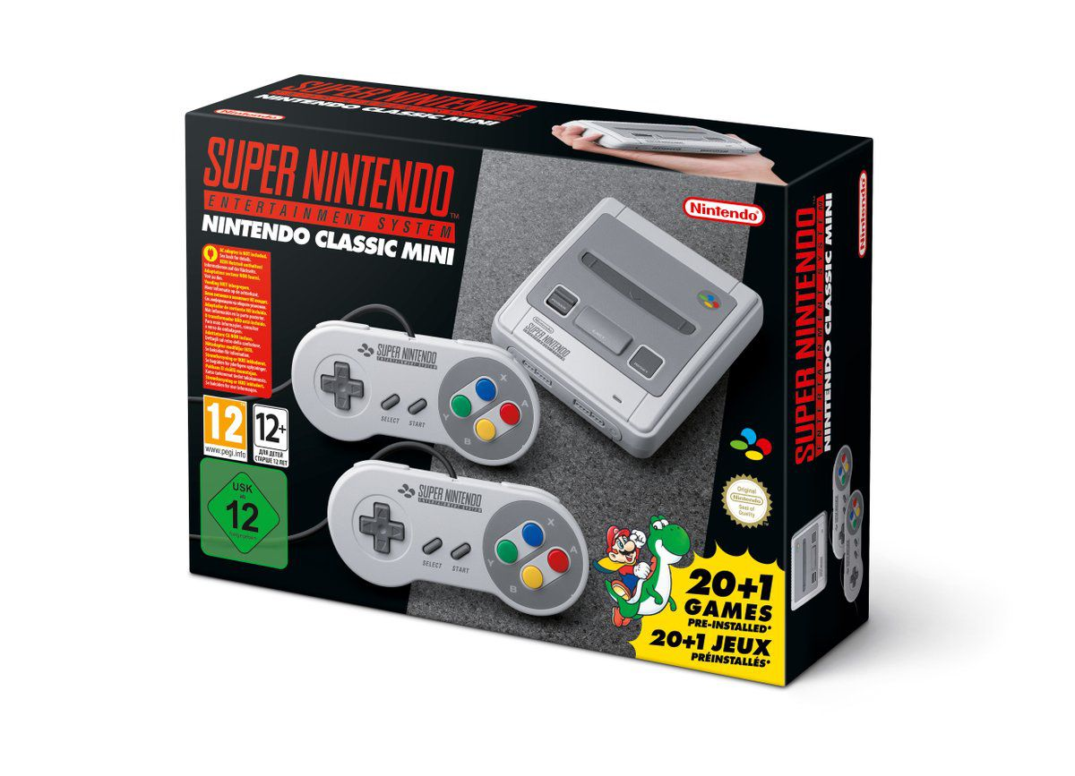 European and Japanese SNES Classic Mini