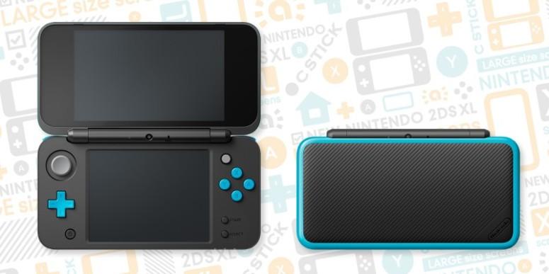 Nintendo 2DSXL console image