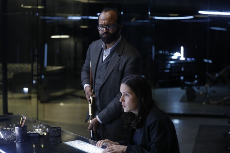 Bernard and Elsie Westworld 2 Episode 6