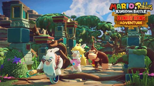 Mario + Rabbids Kingdom Battle Donkey Kong Aventure